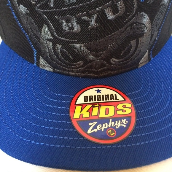 quality design eec23 db96e BYU Cougars HAT Cap Kids Peek Stitched Snapback. Boutique. Zephyr